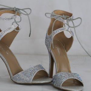 Silver - Sparkle  Shoes
